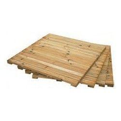 Vallas de madera para jard n borduras y tarimas - Tarimas de madera para jardin ...