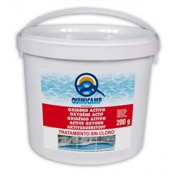 oxigeno tratamiento piscinas