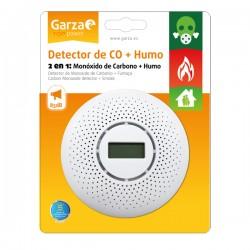 Detector monoxido de carbono , humo garza