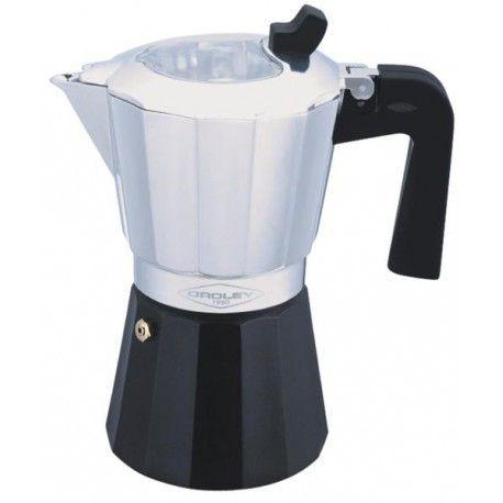 Cafetera induccion 6 tz. Oroley