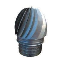 Sombrerete extractor giratorio Galbanizado