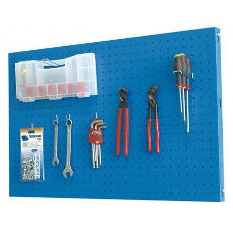 Panel ordenacion herramientas Simon