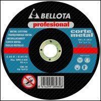Disco corte hierro pro 115 x 3 mm. 25 unidades Bellota