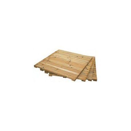 loseta madera cuadrada grande