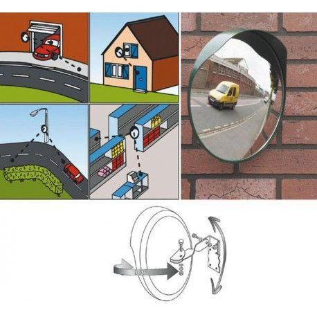 Espejo señalizacion seguridad Mediano