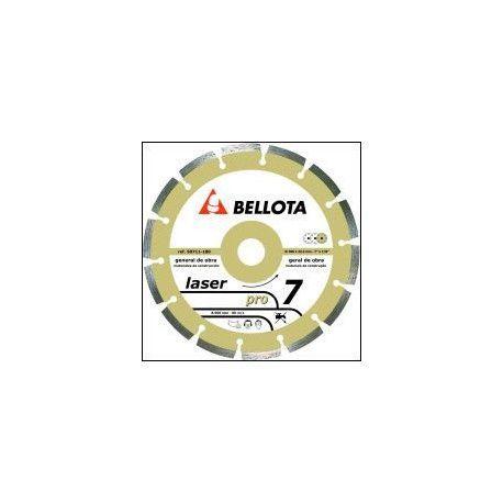 Disco diamante general obra 115 mm. Bellota