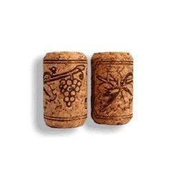 Corcho botella cilindrico 500 uni. 44 x 24 mm.