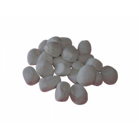 Piedras decorativas grises biochimeneas
