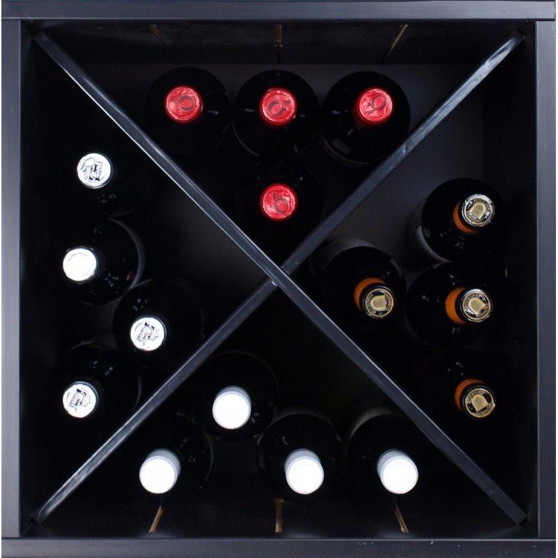 Botellero modular monastrell cruz mini - Botelleros de madera para vino ...