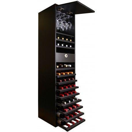 Botellero modular columna MERLOT VIP