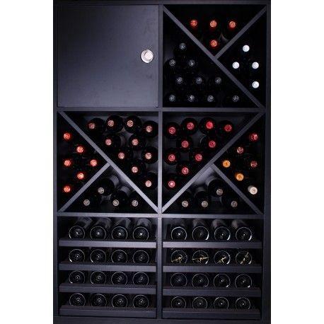 Botellero modular MERLOT SUPER Copas