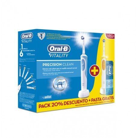 Cepillo dental duo precision cleam Oral-B Vitality