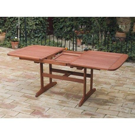 Mesa madera extensible rectangular profer for Mesa rectangular extensible