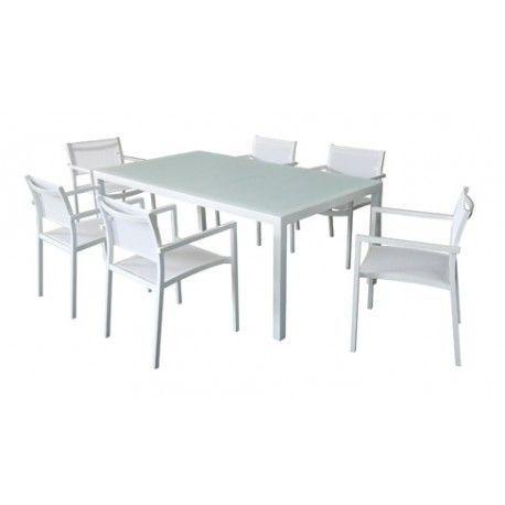 muebles aluminio terraza mediterraneo