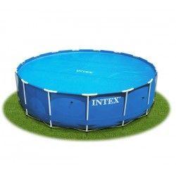 Cubierta solar piscina redonda