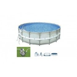Piscina ultra frame 488 intex
