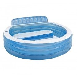 Piscina hinchable asiento familiar intex