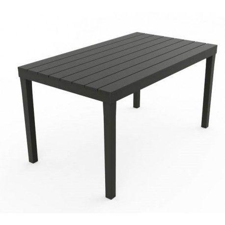 Mesa resina negra paris