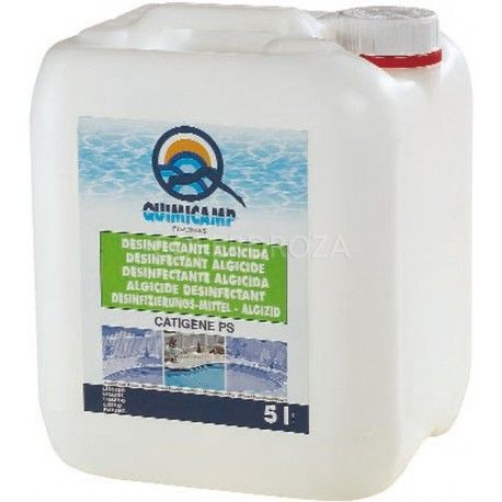 Algicida accion floculante 5 ltr Quimicamp