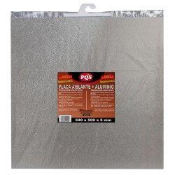 placa aixlante fibra roca aluminio