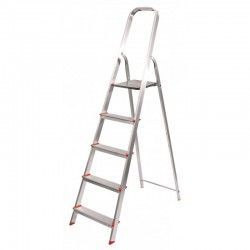 Escalera 8 peldaños aluminio Profer Home