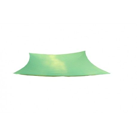 Malla sombreo triangular blanca