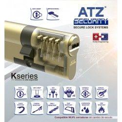 cilindro alta seguridad atz k series