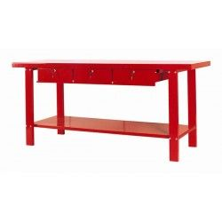 mesa trabajo taller cajones grande