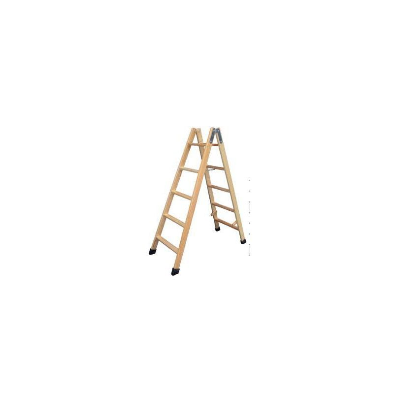 Escalera madera tijera villar - Como fabricar una escalera ...
