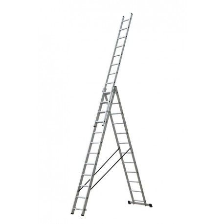 Escalera industrial combinada 3 Tramos Profer Top