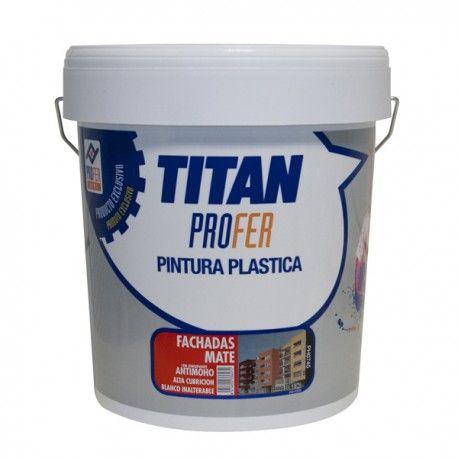 pintura plastica exterior mate 20 kg profer
