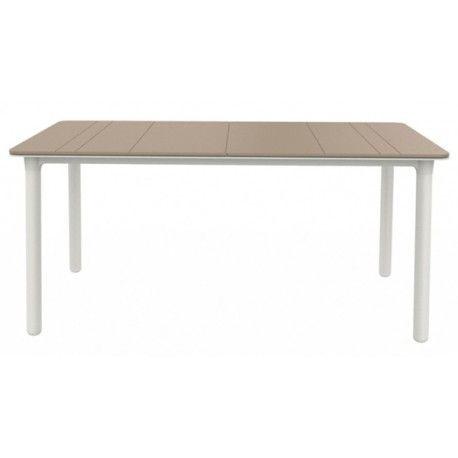 Mesa resina rectangular noa