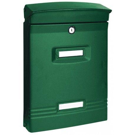 Buzon exterior acero verde cz