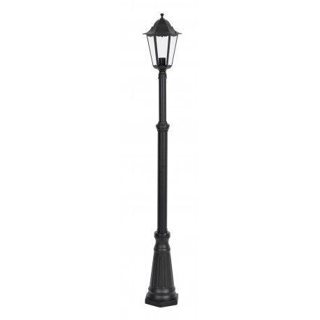 farola exterior 1 lampara negra