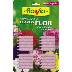 abono clavos plantas flor