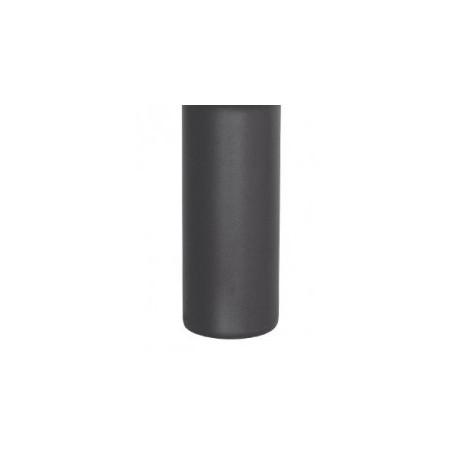 Manguito tubo acero negro M-M 80mm Practic