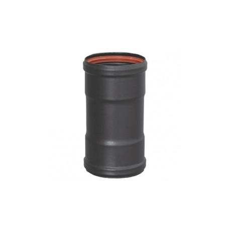 Manguito tubo acero negro H-H 100mm Practic