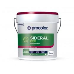 pintura plastica eco sideral 10 litros