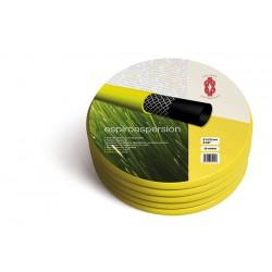 Manguera amarilla 25m espiroaspersion