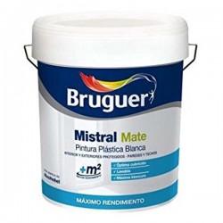 pintura plastica exterior mate 10 litros mistral