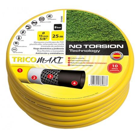 Mangera Tricotada 19mm. amarilla astro