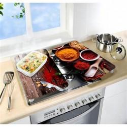Tabla vidrio cocina desayuno