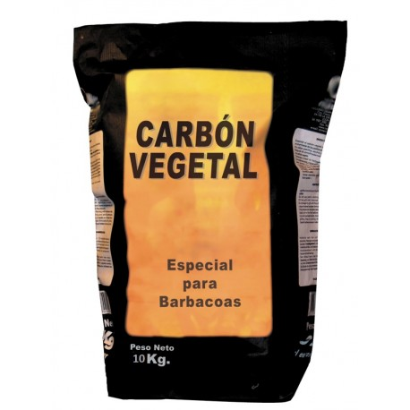 carbon vegetal barbacoa 10 kilos